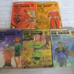 MOBILE SUIT GUNDAM THE ORIGIN ชุด เล่ม 1-5 Yoshikazu Yasuhiko เขียน