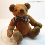 ตุ๊กตาหมีผ้าขน red sugar ขนาด 14 cm. - Herbie