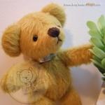 ตุ๊กตาหมีผ้าขนสั้นน้ำตาลทอง ขนาด 11 cm. - Tubbyted