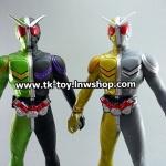 Soft vinyl Kamen rider Cyclone Joker+Luna Metal BANDAI (สูง 6 นิ้ว)
