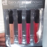 ❤❤ พร้อมส่งค่ะ ❤❤ e.l.f. Essential Beauty School 4-Piece Shimmer Gloss Set