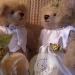 ตุ๊กตาหมี แต่งงาน A ขนาด 20 cm
