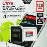 MicroSD Sandisk Ultra 128GB 100MB/s ประกันศูนย์ 10ปี