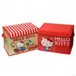 Sanrio Hello Kitty กล่องใส่ของพับได้ ลายน่ารัก sizeใหญ่ค่ะ