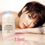 ลด82% Shiseido future solution lx total protective emulsion SPF15 Day ขนาด 15 ml ช่วยลดเลือนริ้วรอย ปรับสีผิวให้เรียบเนียน สว่างกระจ่างใส ผิวมีความชุ่มชื่นที่สมดุล ไม่เหนอะหนะ เนื้อเบากว่าครีมแต่ให้ผลเท่ากัน
