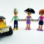 เลโก้เฟรนด์ ชุด 3สาวไฮโซ (ไม่รวมโมเดลรถโบราณ)