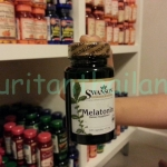Swanson Melatonin 1mg. 120 capsules