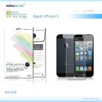 ฟิล์มใส ลดรอยนิ้วมือ iPhone 5 / 5S เกรดพรีเมี่ยม ยี่ห้อ Nillkin