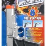 ปืนแก็ปเหล็ก Die-Cast Colt Government Cap Gun (SILVER)