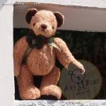 ตุ๊กตาหมีผ้าขนแกะสีน้ำตาลทองขนาด 20 cm. - Lilac