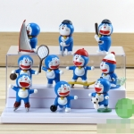 [Preorder] โมเดลโดเรมอนนักกีฬา 10 แบบน่ารัก (ไม่มีฐาน) models duo a dream doll ornaments hand to do the 35th anniversary of the seal of the scene Doraemon Doraemon Toys and Gifts