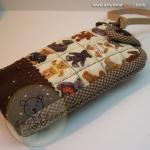 กระเป๋าใส่โทรศัพท์-ลายหมีเท็ดดี้