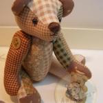 ตุ๊กตาหมีผ้าฝ้ายคละลาย ขนาด 14 cm. - Herbie
