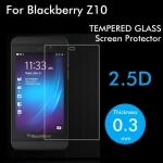 ฟิล์มกระจกนิรภัย Tempered Glass สำหรับ BlackBerry Z10