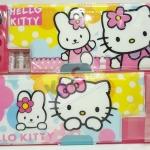 กล่องดินสอ 2 ชั้น ลายการ์ตูน Hello Kitty