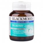 Blackmores Bilberry 2500 mg. แบล็คมอร์ส บิลเบอร์รี่ 2500 มก. บรรจุ 60 แคปซูล