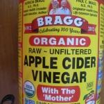 นํ้าส้มสายชูแอปเปิ้ล BRAGG 950 ml (Apple Cyder 950 ml)