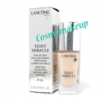 Lancome Teint Miracle Bare Skin Foundation Natural Light Creator # P-01. Teint Miracle Bare Skin Foundation ขนาด 5 ml. สี P-01 ขาวกลางชมพู