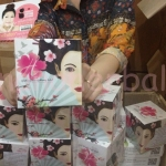 geisha secret whitening mask