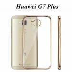 เคสบัมเปอร์ยางนิ่ม ขอบสีโครเมี่ยม Huawei G7 Plus (G8)
