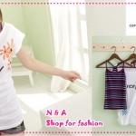 เสื้อกล้าม + เสื้อยืดแขนสั้น introductory price of Ruili new Korean version of women's two-piece