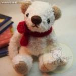 ตุ๊กตาหมีผ้าขนสีขาวขนาด 12 cm. - Bess