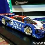 โมเดลรถยนต์ Q-MODEL JAPAN 1/43 Nissan R90CK #84 1990LM