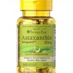 Puritan's Pride Natural Astaxanthin 10 mg / 60 Softgels