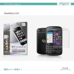 ฟิล์มด้าน ลดรอยนิ้วมือ BlackBerry Q10 ยี่ห้อ NILLKIN