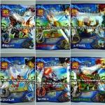 เลโก้ ชิม่า มินิฟิกเกอร์ 6 ตัว เซ็ต A (LELE) (แถมฟรีการ์ดพลาสติก CHIMA 1ชุด)