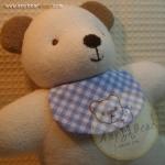 ตุ๊กตาหมีผ้าขนหนูขนาด 20 cm. - HBD Baby Boy