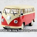 รถโฟล์คตู้บังคับวิทยุ VOLKSWAGEN VAN R/C (สีแดง)