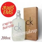 (น้ำหอมแท้100%) ส่งฟรี EMS Calvin Klein CK one - Eau DE Toilette ขนาด 200 ml. เดโมเทสเตอร์ น้ำหอม unisex ที่มีเอกลักษณ์เฉพาะตัว