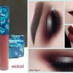 ส่งฟรี EMS # Liquild matte lipstick # สี wicked น้ำตาลหม่นอมพลัม ลุคมั่นใจ ลิปสติกเนื้อแมทแห้งไว้ติดทนนาน กลิ่นหอม