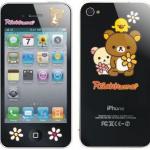 ฟิล์มใสลาย Rilakkuma (iphone4/4s)