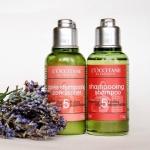 พร้อมส่งค่ะ น่าใช้มากถึงมากที่สุด L'Occitane Repairing Shampoo + Conditioner for Dry and Damaged Hair ขนาด 75 ml