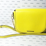 กระเป๋า charles & keith สีเหลือง มือสอง