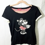 เสื้อ มินนี่เมาส์ Disney แท้ มือสอง