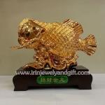 ปลาเหรียญจีน ฐานแดง8นิ้วsl034