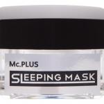 """Mc.PLUS Sleeping Mask พอกหน้าขาวใสขั้นเทพ """"ฟื้นฟูผิวหมองคล้ำหยาบกร้านของผู้ชายให้กลับมาขาวเนียนใสเพียงข้ามคืนด้วยYeast Mask"""" 15 กรัม"""