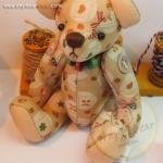 ตุ๊กตาหมีผ้าฝ้ายขนาด 14 cm. - Herbie