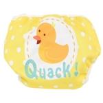 ลาย Quack 2 เดือน- 2 ขวบ #กางเกงผ้าอ้อมว่ายน้ำ # แพมเพริสว่ายน้ำ # กันอึน้องได้ คุณภาพดี ขอบเอว ขอบขาเป็นยางยืด เนื้อผ้านิ่ม