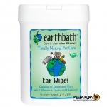 Earthbath Ear Wipes แผ่นเช็ดหู