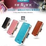 เคสหนังฝาพับ HTC One Mini (M4) ยี่ห้อ MOFi Leather Standing