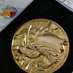 เหรียญทองโปเกมอน POKEMON GOLD MEDAL [KELDEO]