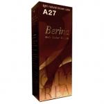 Berina เบอริน่า ครีมย้อมผม A27 สีน้ำตาลอ่อนธรรมชาติ สีเบสิคฮิตตลอดการ