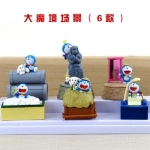 [Preorder] โมเดลโดเรมอน 6 แบบน่ารัก (ไม่มีฐาน) models duo a dream doll ornaments hand to do the 35th anniversary of the seal of the scene Doraemon Doraemon Toys and Gift