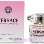 น้ำหอม Versace Bright Crystal Eau De Toiltte 5 ml. ขนาดทดลอง หัวแต้ม พร้อมกล่อง ของแท้ 100%