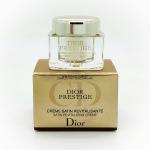 ลด 57% Christian Dior DIOR PRESTIGE SATIN REVITALIZING CREME 5 ML Creme ครีมฟื้น บำรุงผิวเนื้อเนียนนุ่ม มอบสัมผัสเบาสบายผิว ช่วยฟื้นสภาพผิวให้คงอ่อนเยาว์
