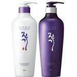 แพ็คคู่ Daeng Gi Meo Ri Vitalizing Shampoo 300ml + Treatment 300ml เซ็ตแชมพูและทรีทเมนต์ ช่วยฟื้นฟูสภาพเส้นผมและหนังศีรษะที่แห้งเสีย ลดอาการผมร่วง บำรุงเส้นผมให้มีสุขภาพดี นุ่มลื่น มีน้ำหนัก